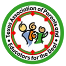 Texas Association of Parents and Educators of The Deaf Logo